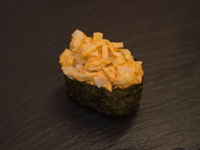 Спайс суши Кальмар